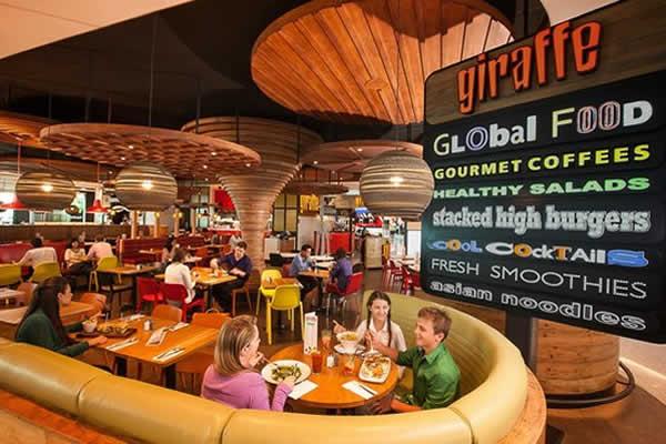 رستوران های معروف فرودگاه