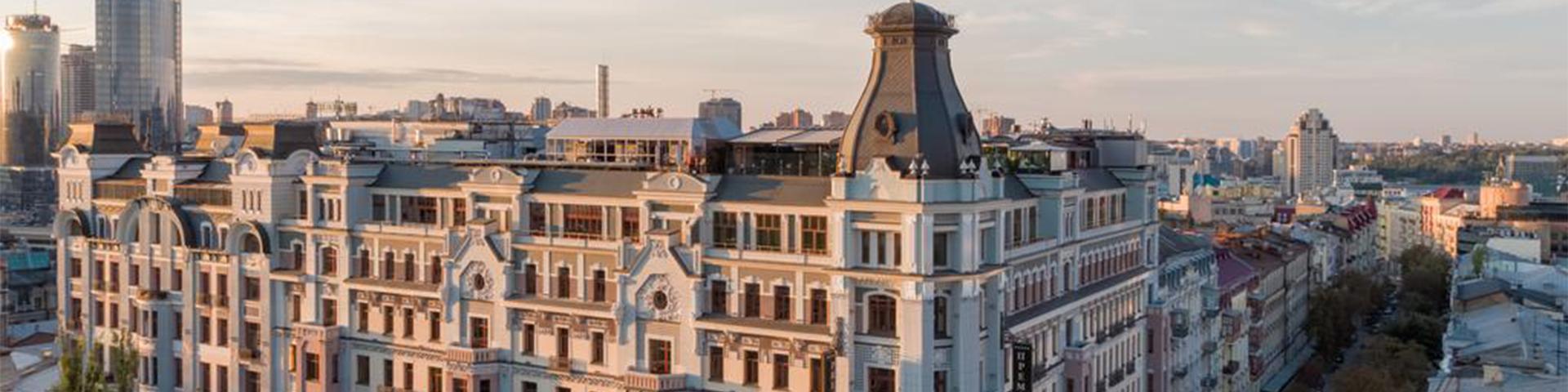 نمای هتل پریمیر پالاس کی یف