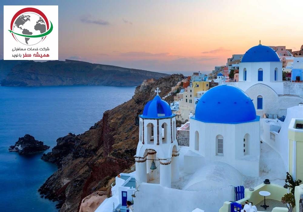 مناطق گردشگری یونان