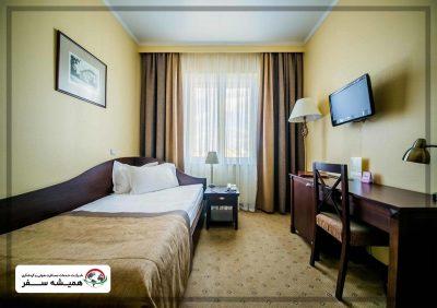 اتاق سینگل هتل مینسک بلاروس