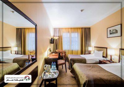 اتاق های هتل مینسک بلاروس