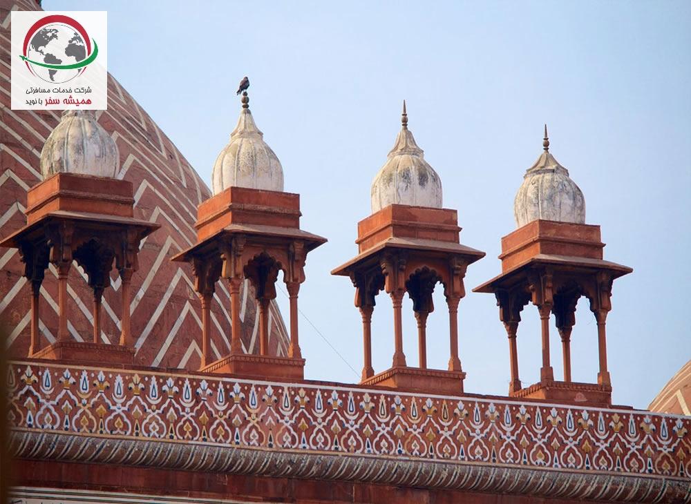 آشنایی مسجد جامع در آگرا