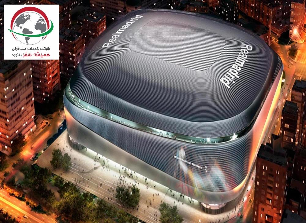 استادیوم ورزشی نیوکمپ و سانتیاگو برنابئو