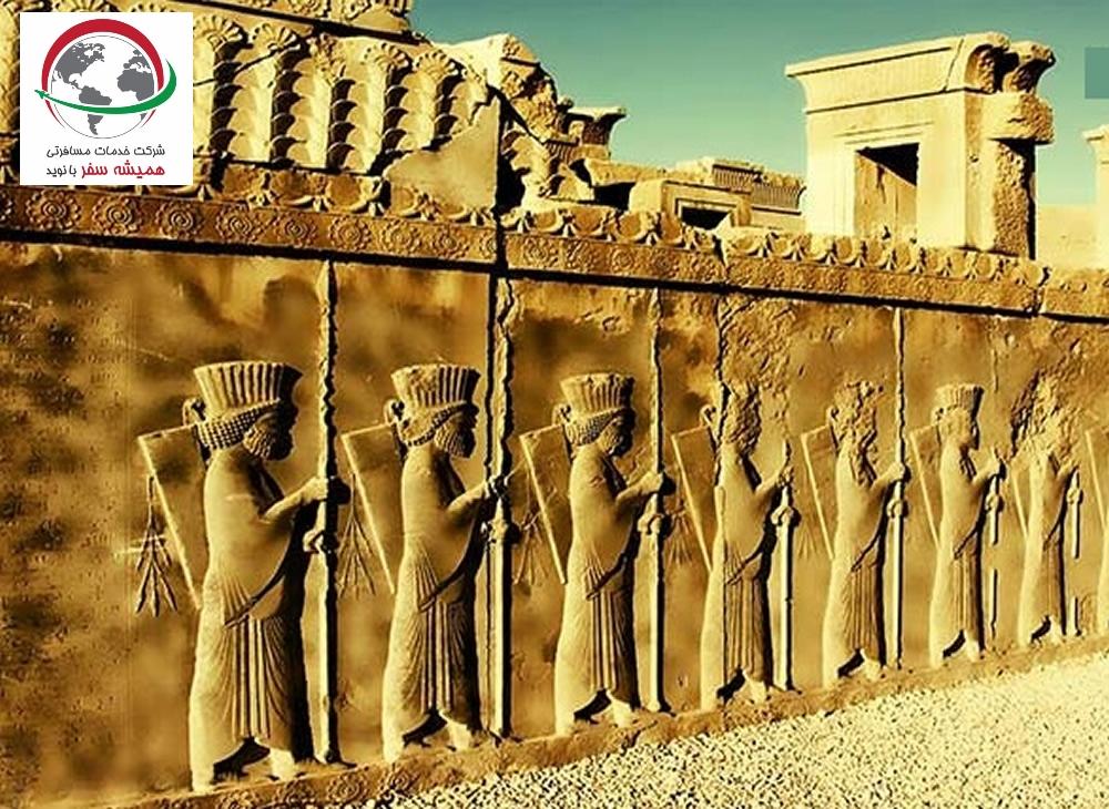 تاریخچه تخت جمشید