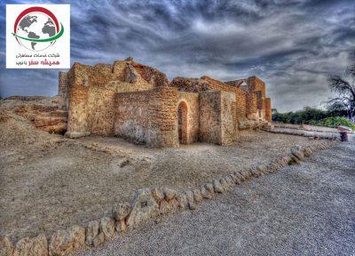 شهر باستانی و دیدنی حریره کیش