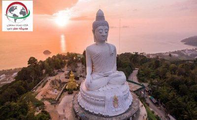 مجسمه بودا ﺑﺰرگ در شهر پوکت تایلند