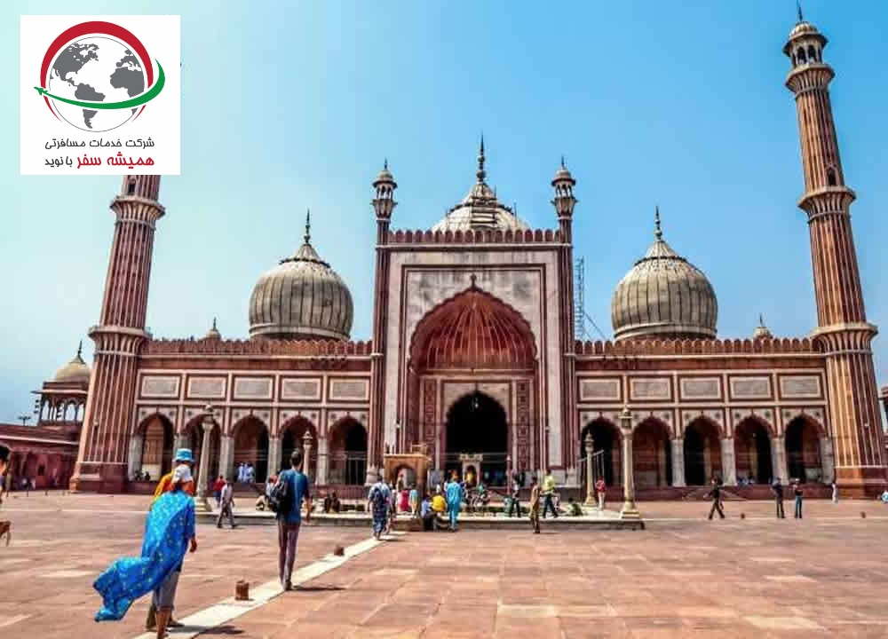 Jama Mosque in Delhi