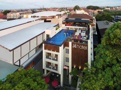 نمای هتل جی۴ بالی