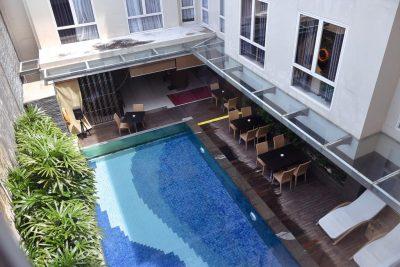 نمای هتل سولاریز بالی