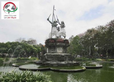 نماد میدان پوپوتان در بالی