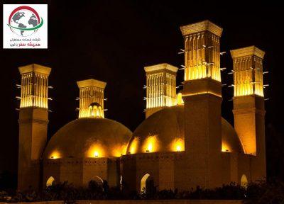 آب انبار شش بادگیر شهر یزد