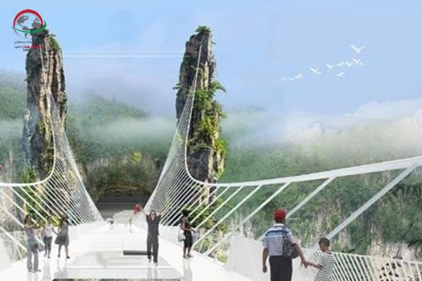 پل تیانمن، پل شیشه ای چین