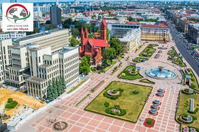 بهترین جاذبه بلاروس، میدان استقلال بلاروس