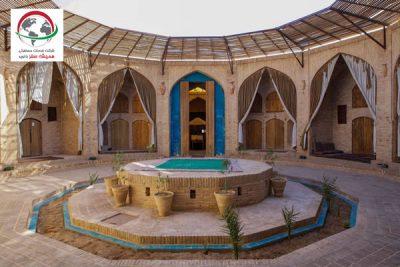 اقامت در کاروانسرای زین الدین یزد