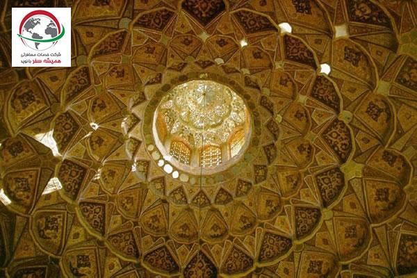 معماری عمارت هشت بهشت اصفهان