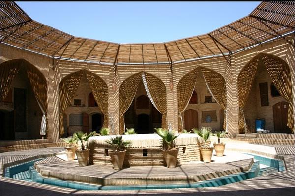 Zainuddin Caravanserai in Yazd