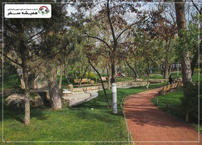 دسترسی به پارک عشاق ایروان