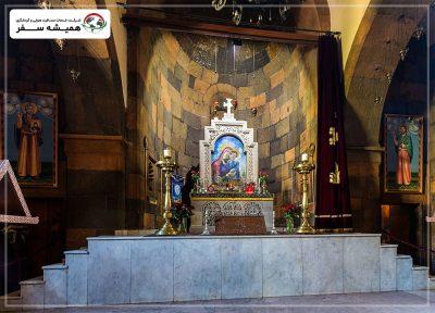 نمای داخلی کلیسا سنت نورک ایروان