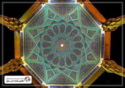 بخش های مختلف آرامگاه حافظ در شیراز