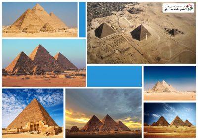 هرم بزرگ جیزه مصر