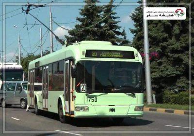 اتوبوس، اتوبوس برقی و تراموا در بلاروس