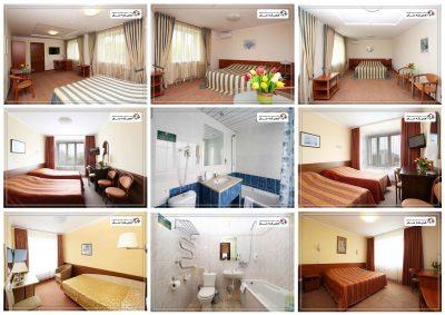 اتاق ها و امکانات هتل اسپوتنیک مینسک