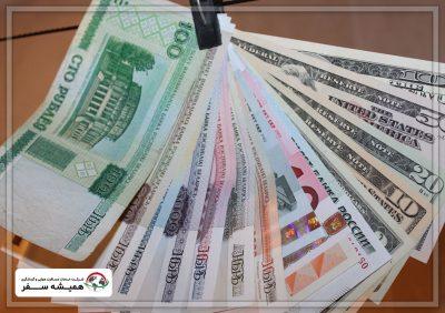 ارزش پول رایج در بلاروس در مقایسه با دلار