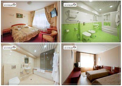 اتاق ها در هتل اوربیتا