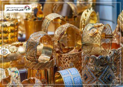 بازارهای طلای دبی